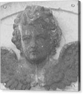 Angel In Grey Acrylic Print