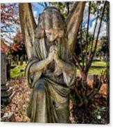 Angel In Prayer Acrylic Print