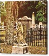 Angel In Stone Acrylic Print