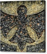 Angel In Stone Acrylic Print