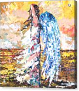 Angel In The Wind Acrylic Print