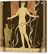 Angel Le Tombeau De Bilitis Acrylic Print