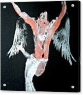 Angel Leaping Acrylic Print