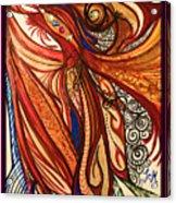 Angel Lucifer Acrylic Print