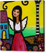 Angel Nilda Acrylic Print