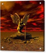 Angel Of Death Acrylic Print