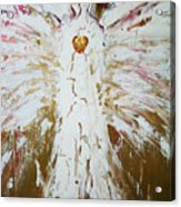 Angel Of Divine Healing Acrylic Print by Alma Yamazaki
