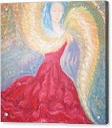 Angel Of Fire Acrylic Print