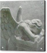 Angel Of Grief Acrylic Print