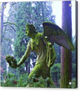 Angel Of Honor No. 01 Acrylic Print by Ramon Labusch