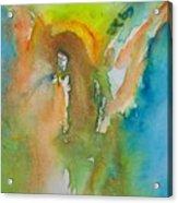 Angel Of Kindness Acrylic Print