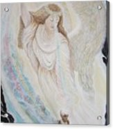 Flying Lamb Productions.   Angel Of Mercy -2 Acrylic Print