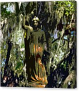 Angel Of Savannah Acrylic Print
