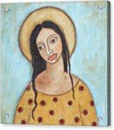 Angel Of Tolerance Acrylic Print by Rain Ririn