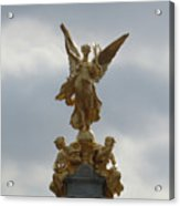 Angel On The Queen Victoria Memorial Acrylic Print