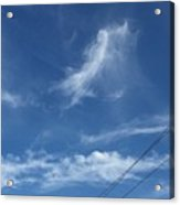 Angel Over Two Notch Road Acrylic Print