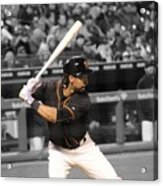 Angel Pagan Acrylic Print