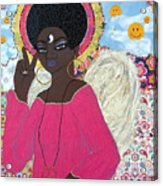 Angel Peace-n-love-n-stuff Acrylic Print