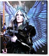 Angel Poster Acrylic Print