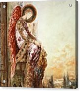 Angel Traveller Acrylic Print by Gustave Moreau