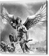angel warrior poster by miro gradinscak