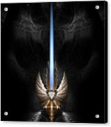 Angel Wing Sword Of Arkledious Dgs Acrylic Print