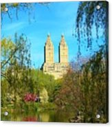 Perfect Morning In The Park Acrylic Print