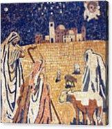 Angel With Shepherds Acrylic Print