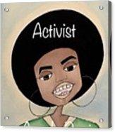 Angela Davis #2 Acrylic Print