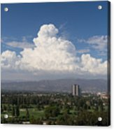 Angeles National Park And Lakeside Golf Club In Southern California Dsc3585sq Acrylic Print