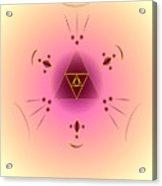 Angelic Code - Psychic Vision Acrylic Print