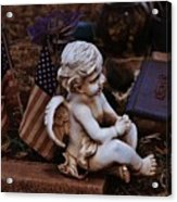 Angelic Sentry Acrylic Print