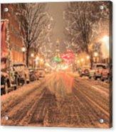 Angelic Snow Acrylic Print by JC Findley