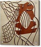 Angelica - Tile Acrylic Print