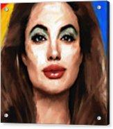 Angelina Jolie  Acrylic Print