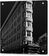 Angelo Calori Building Acrylic Print by Rod Sterling