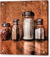 Angelo's Condiments Acrylic Print