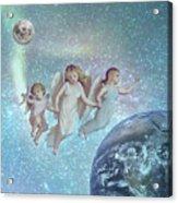 Angels Above Acrylic Print