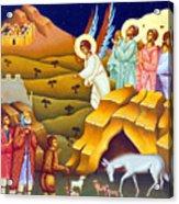 Angels And Shepherds Acrylic Print