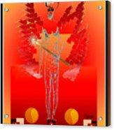Angels - Archangel Sariel Acrylic Print