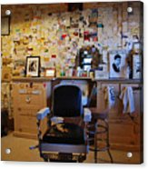 Angel's Barber Shop On Route 66 Acrylic Print