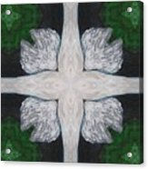 Angel's Cross Acrylic Print