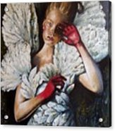Angel's Dont Cry. Acrylic Print