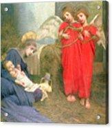Angels Entertaining The Holy Child Acrylic Print