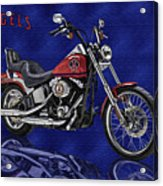 Angels Harley - Oil Acrylic Print