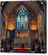 Angels Light Acrylic Print