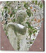 Angels Of The Snow  B Acrylic Print