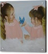 Angels With Wings Acrylic Print