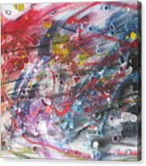 Anger And Pain Acrylic Print