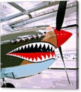 Anger Management Palm Springs Air Museum Acrylic Print